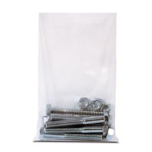 Heavy Duty Flat Poly Bags, 4 Mil image