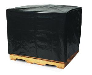Black Pallet Covers & Bin Liners with UVI Additive, 3 MIL image