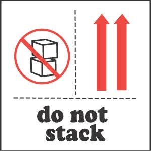 Do Not Stack Labels image