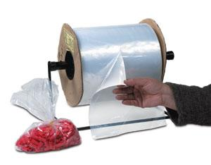 1.5 Mil Poly Bags on Roll - Kwik-Fill® Pre-Opened Bags image