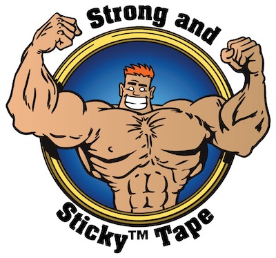 Medium Duty Strong and Sticky™ Hot Melt Tape image